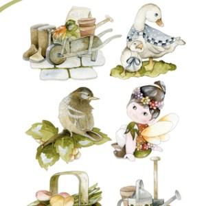 PMCS10009 - Clear Stamp -  Springtime - Precious Marieke.indd