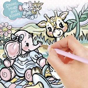 YCCB10002 - Yvonne Creations - Kleurboek A4 - Buitenkant-Binnenk