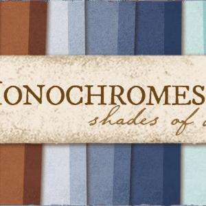 Monochromes - Shades of denim