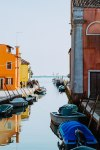 Burano Italy by Roy