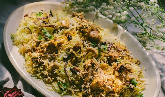 Happy Birthday MaMa | Moplah Chicken Biryani