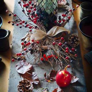 Autumn table arrangement By Roy