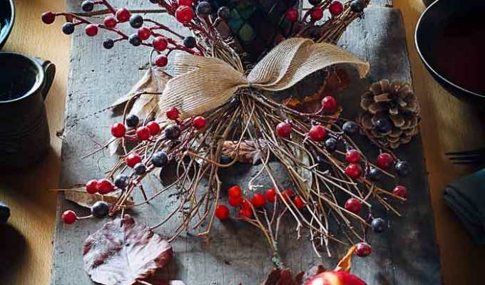 A Stunning Autumn Tablescape | Soul food and Music