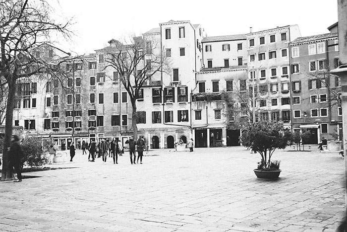 Campo Jewish Ghetto Venice By Roy