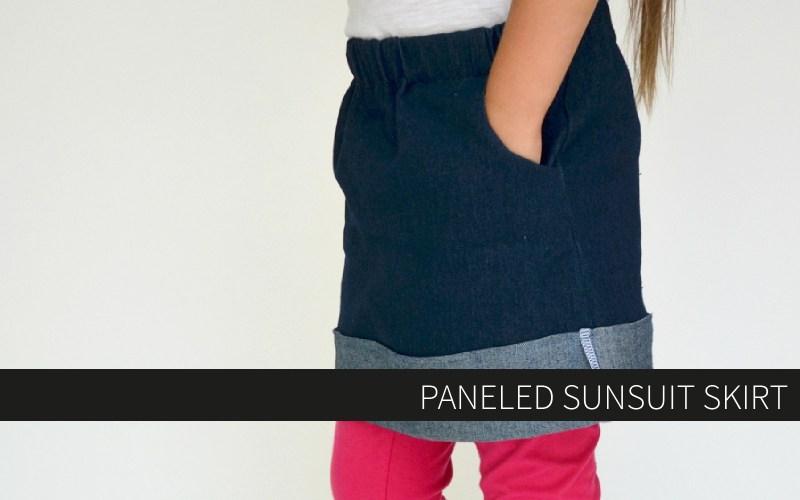Paneled Sunsuit Skirt + giveaway!