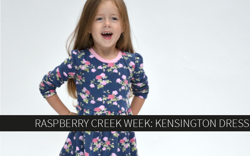 Raspberry Creek Week: Kensington Dress
