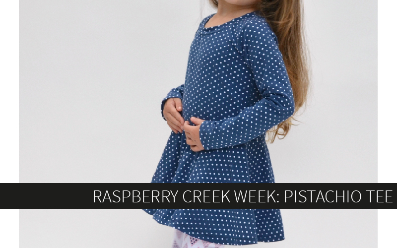 Raspberry Creek Week: Pistachio Tee