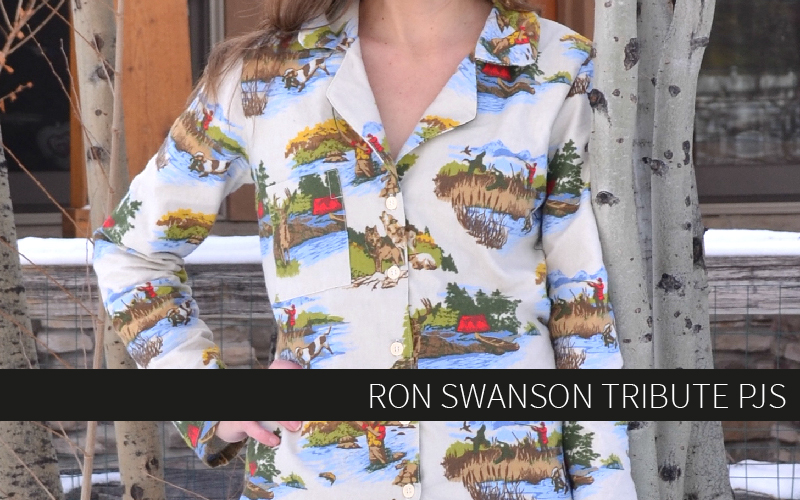 Ron Swanson Tribute PJs