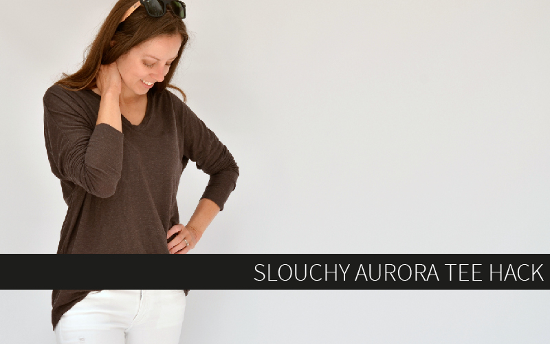 Slouchy Aurora Tee Hack