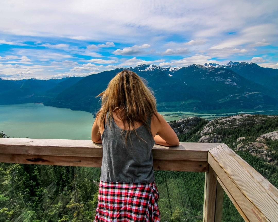 Chief Overlook Platform - Sea-to-Sky Gondola, Squamish BC-4