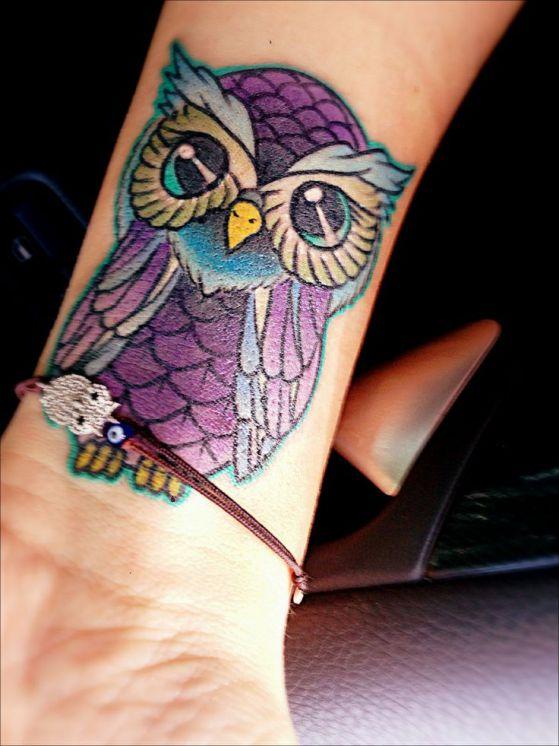 tattoos con diseño de buho (5)