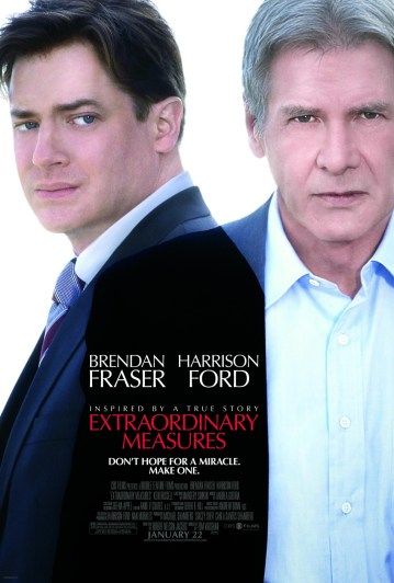 New Posters for Harrison Ford & Brendan Frasers Extraordinary Measures