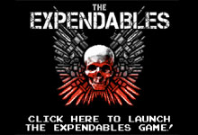 Expendables Game Play the 8 Bit Expendables Game