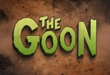 The GOon logo Extended Comic Con Footage of The Goon Shows Up