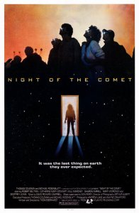 night of the comet movie poster 196x300 Video Vault: Night of the Comet