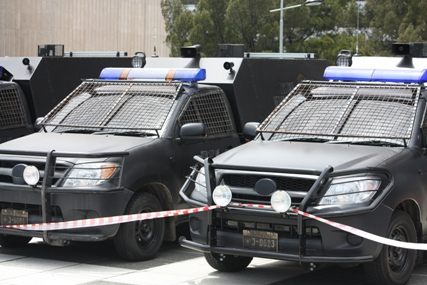 Dredd set 2 New Images From Dredd Reveal Police Vehicles
