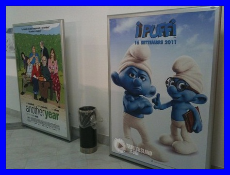 smurfs italian poster 2 Two Smurfs Posters   Italian Style iPuffi!