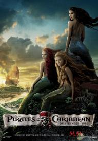 Pirates of the Caribbean Poster Mermaids 419x600 New Pirates of the Caribbean: On Stranger Tides Poster Features Multiple Mermaids