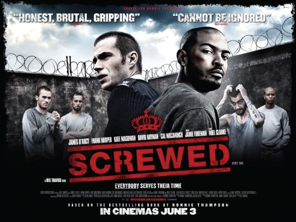 Screwed First Poster for New British Movie Screwed Online
