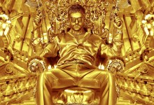 The Devils Double Poster lr 220x150 Crazy New Poster for The Devils Double Shows Dominic Cooper Armed in Gold
