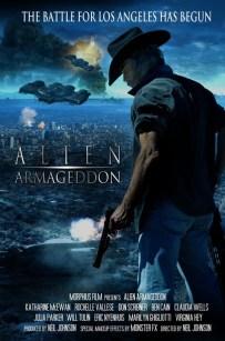 Alien Armageddon Poster 396x600 Alien Armageddon Trailer + Poster & Images