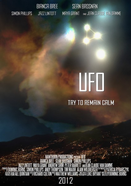 UFO HeyUGuys Poster Exclusive 424x600 Exclusive Casting News, Synopsis & First Look Poster for UFO