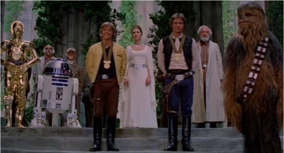 End ceremony star wars a new hope 12500053 820 444 Video Vault   Star Wars Episode IV: A New Hope