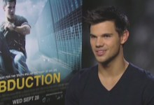 Taylor Lautner Abduction Junket 220x150 Exclusive Video Interview   We Talk with Taylor Lautner on all Things Abduction