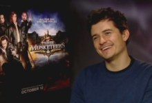 Orlando Bloom The Three Musketeers Junket 220x150 Exclusive Interview   Orlando Bloom Talks The Three Musketeers & Sings Dogtanian and the Three Muskehounds
