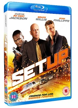 SETUP 3DBD Win Setup Starring Bruce Willis and 50 Cent on Blu ray