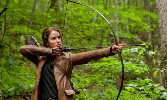 The Hunger Games Katniss Archer Still Jenna Lawrence 585x350 New Image from The Hunger Games