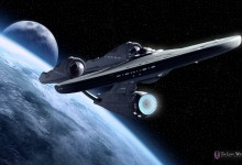 Starship Enterprise 220x150 JJ Abrams Suggests 3D Post Conversion For Star Trek 2