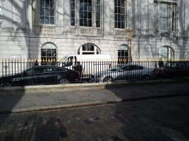 Set Photos: Skyfall (Bond 23) Takes Over Tower Hill
