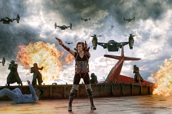 Resident Evil Retribution 1 Explosive New Images Of Milla Jovovich In Resident Evil: Retribution