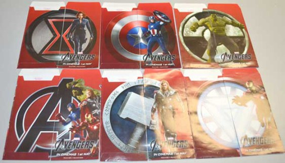 The Avengers promo red envelopes 2 The Avengers Gets Awesome New Promo Images And Red Envelopes To Celebrate The Chinese New Year