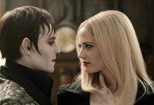 Eva Green and Johnny Depp in Dark Shadows 220x150 Eva Green and Johnny Depp Get Intimate in New Still from Dark Shadows