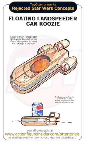 Star Wars Merchandise - Floating Speeder