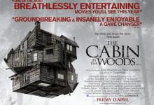 The Cabin in the Woods 220x150 The Cabin in the Woods U.K. Poster