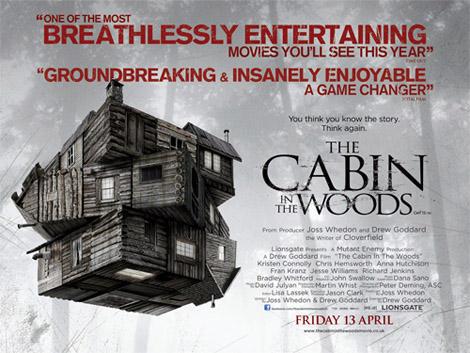 The Cabin in the Woods The Cabin in the Woods U.K. Poster