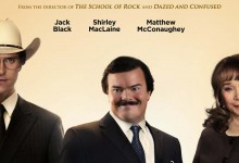 Bernie poster e1330619587881 220x150 First Trailer and Poster for Bernie with Jack Black