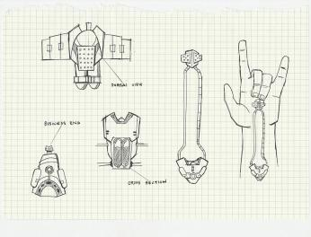 3D Web Shooter Design Specs from The Amazing Spider Man