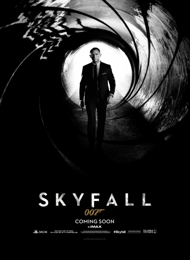 Skyfall-Poster-showing-Daniel-Craig-as-James-Bond