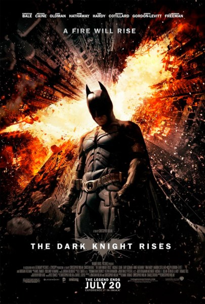 The Dark Knight Rises poster 405x600 Explosive New Poster Released for The Dark Knight Rises