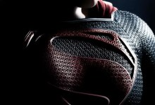 Man of Steel hi res poster 220x150 Not a Bird, Nor a Plane... Its the New Poster for Man of Steel