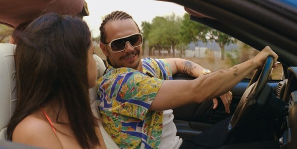 Selena Gomez and James Franco in Spring Breakers