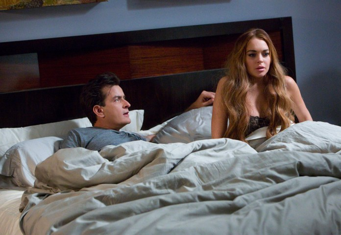 Charlie-Sheen-and-Lindsay-Lohan-in-Scary-Movie-5