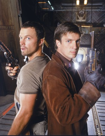 Firefly - Nathon Fillion and Adam Baldwin