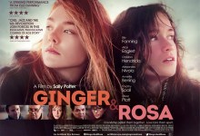 Ginger Rosa UK Poster 220x150 Beautiful First Poster for Ginger & Rosa with Elle Fanning, Alice Englert & Christina Hendricks