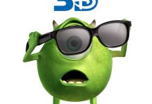 Monsters Inc. 3D Poster 220x150 First TV Spot for Monsters Inc 3D – 'New Look'