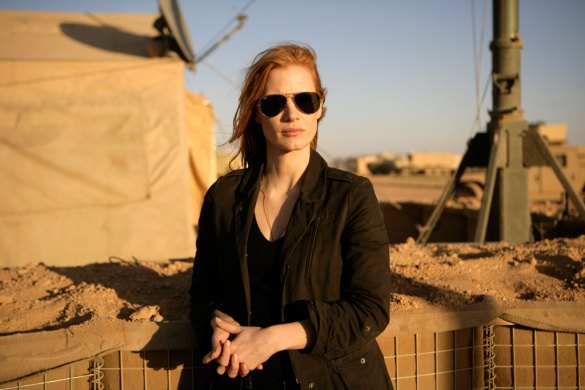 Jessica Chastain in Zero Dark Thirty 585x390 The HeyUGuys Instant Watching Guide   November 11th 2013